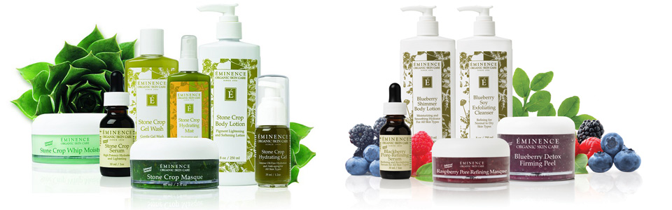 Eminence Organic Skincare - Stone Crop Collection, Very Berry Collection
